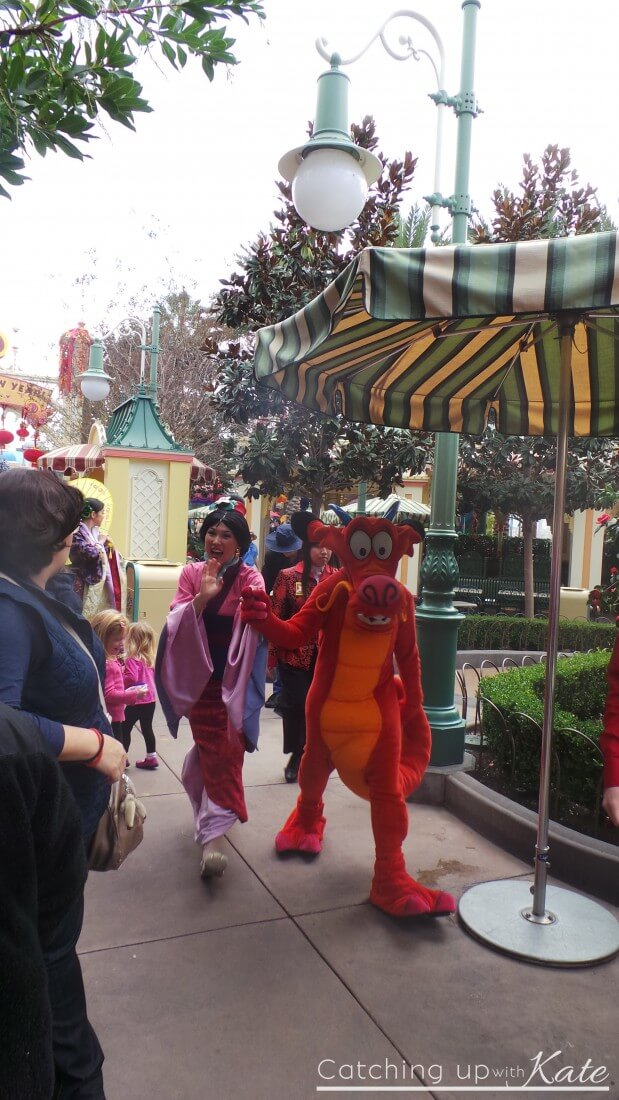 Lunar New Year Celebration at Disney