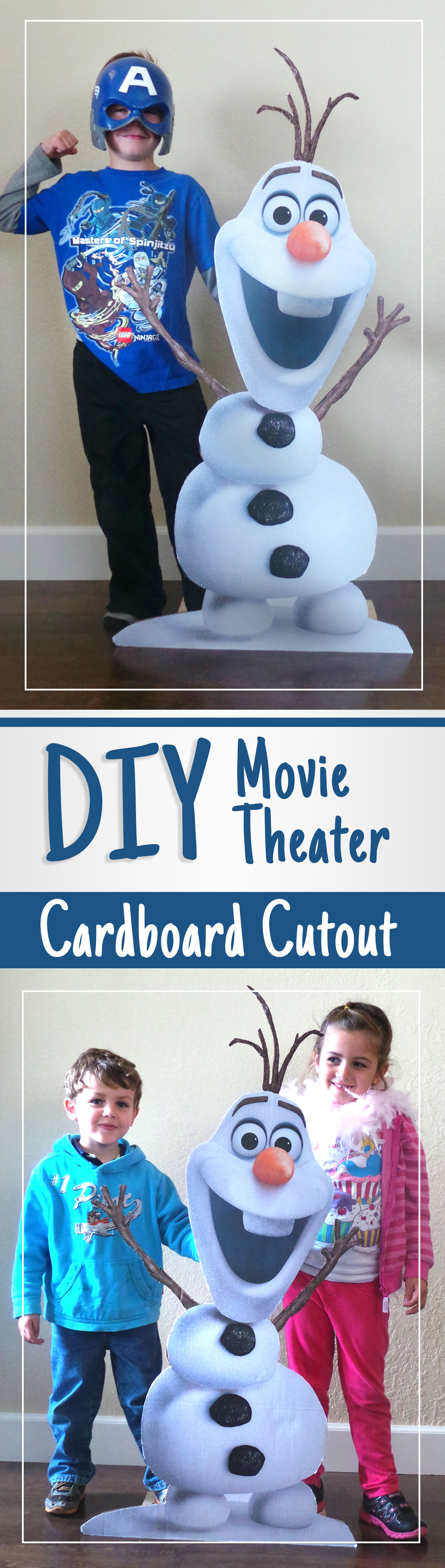 DIY movie theater cutouts