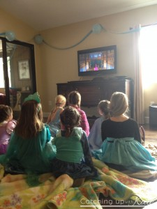 Frozen Viewing Party