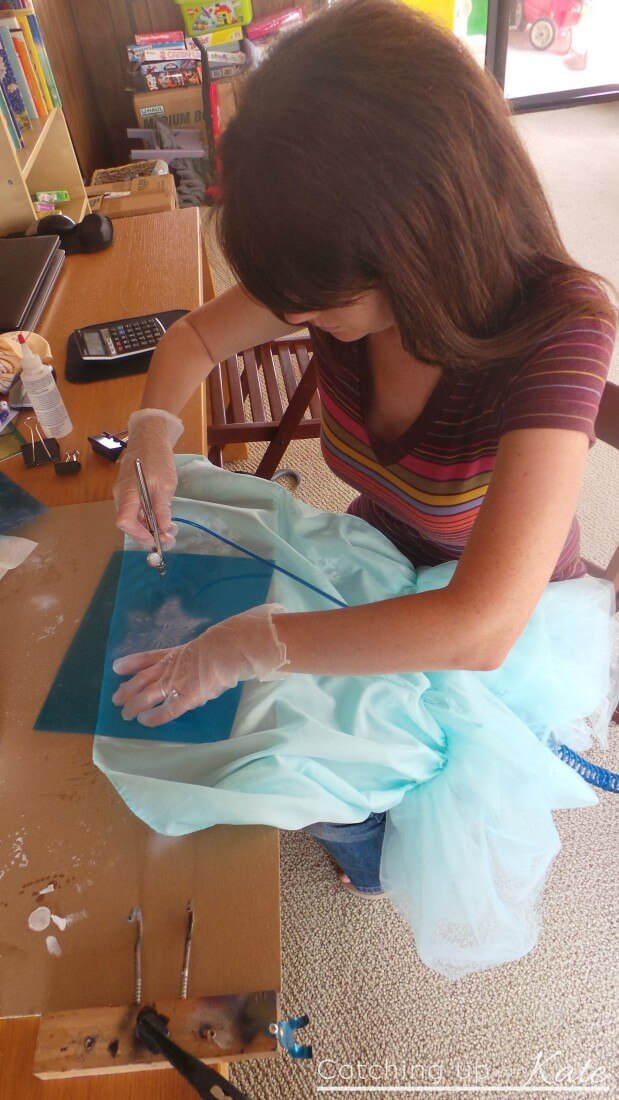 Painting-Snowflakes-dress