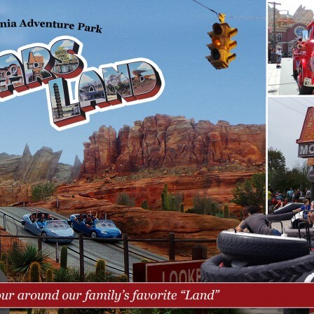 Cars Land Disney California Adventure park