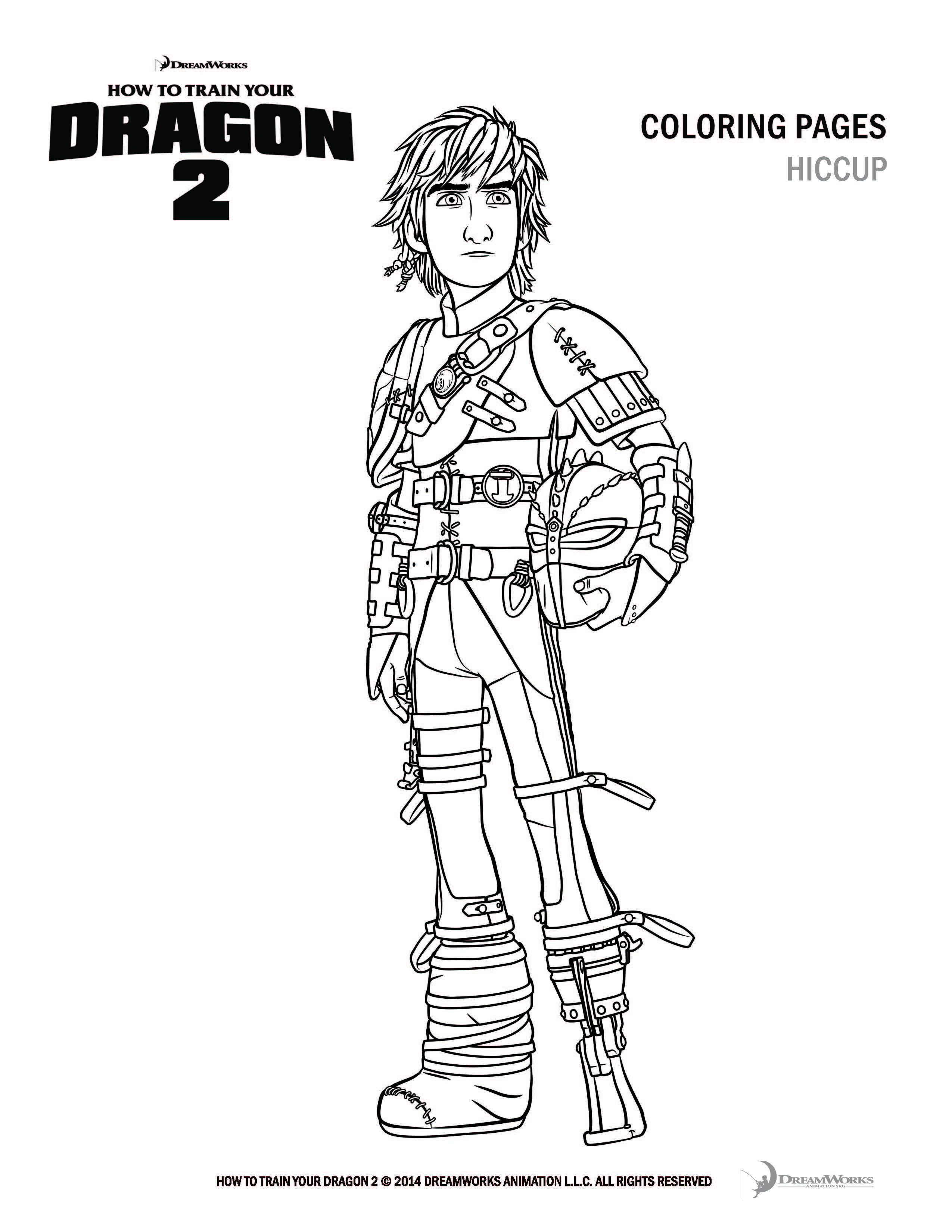 - How To Train Your Dragon Coloring Pages And Activity Sheets