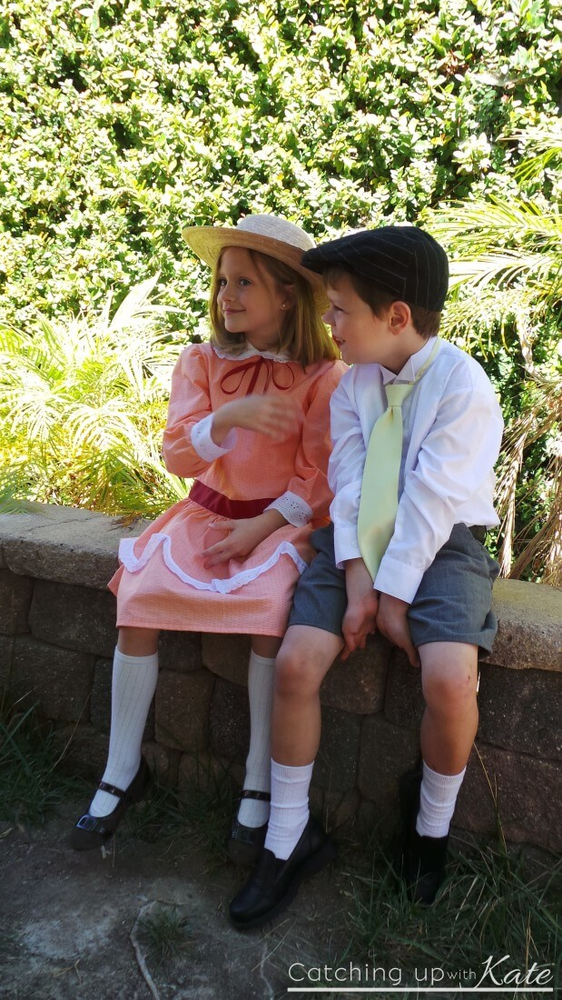 jane and michael banks costumes