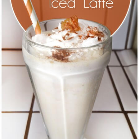 diy pumpkin iced latte