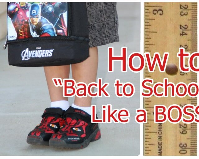 how to back to school like a boss