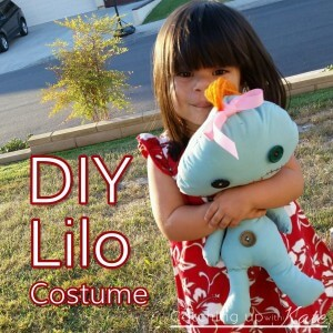 Lilo Costume : Easy NO SEW Halloween DIY