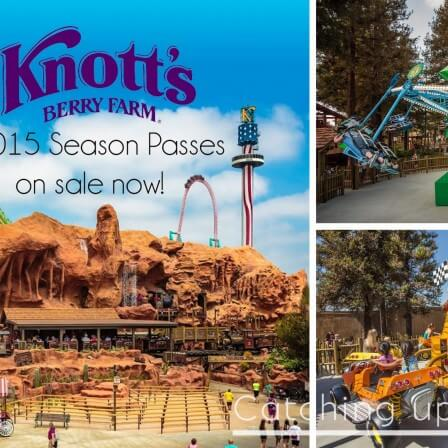 Knott's Berry Farm 2015 Season Passes
