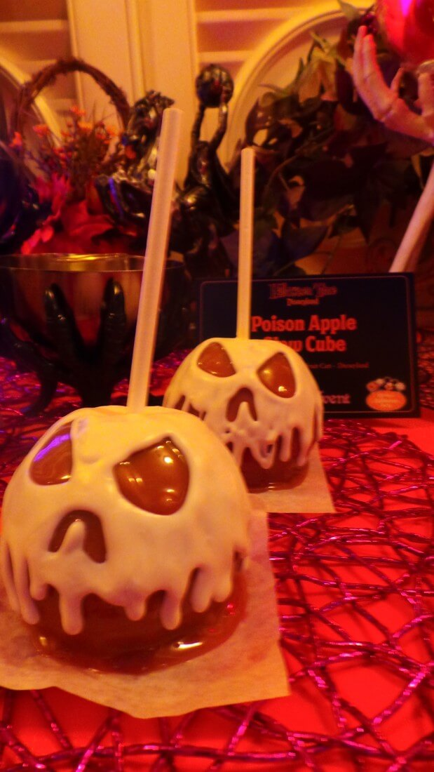 spooky caramel apples