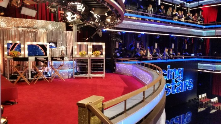 Dancing with the stars taping
