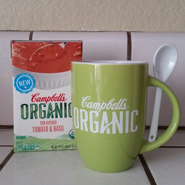 Campbell's Soups organic options