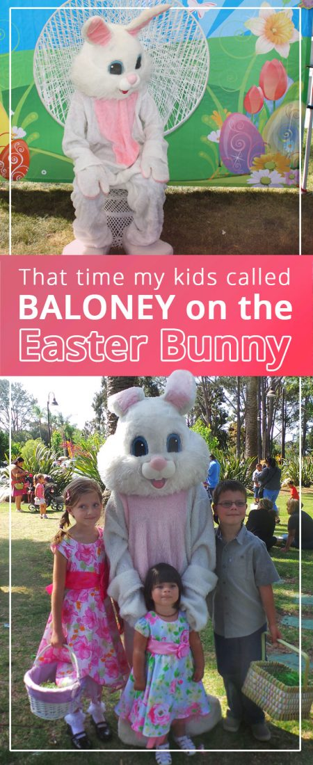 easter bunny baloney