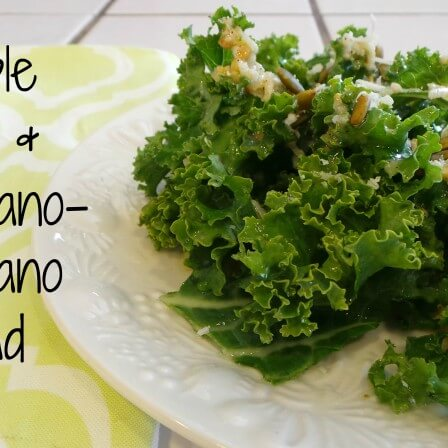 Simple Kale and Parmigiano-Reggiano Salad Recipe