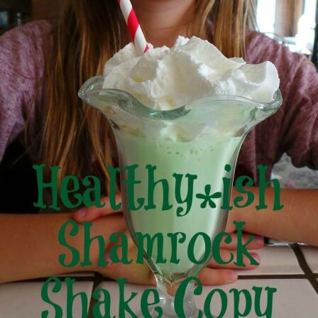 Healthier Shamrock Shake Copy Cat Recipe