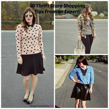 10 tips for Thrift Store Shopping from the expert!