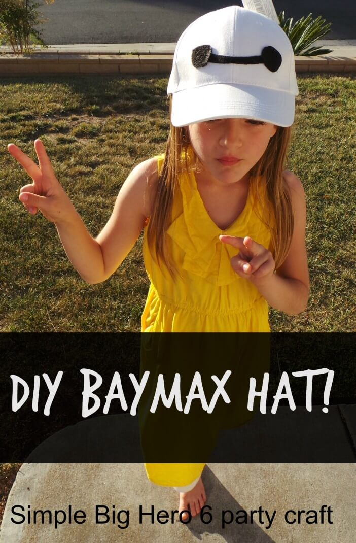 Easy-DIY-Baymax-Hat
