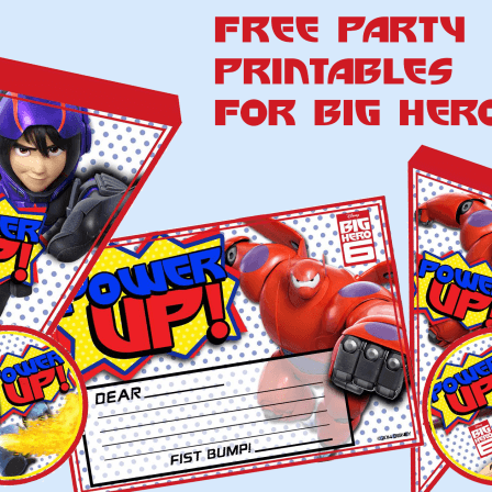 Free Party Printables for Big Hero 6