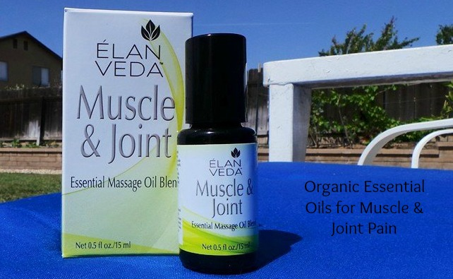ELAN VEDA Muscle & Joint Essential Oil Blend