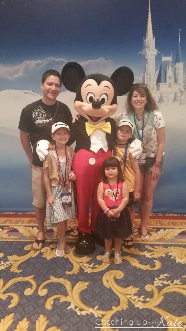 picture with mickey