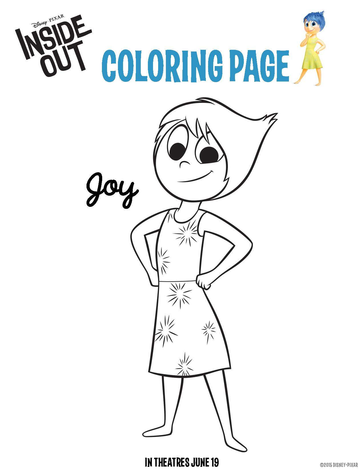 🎨 🎨 Anger Fear Inside Out Free Printable Coloring Pages For ... | 1650x1275