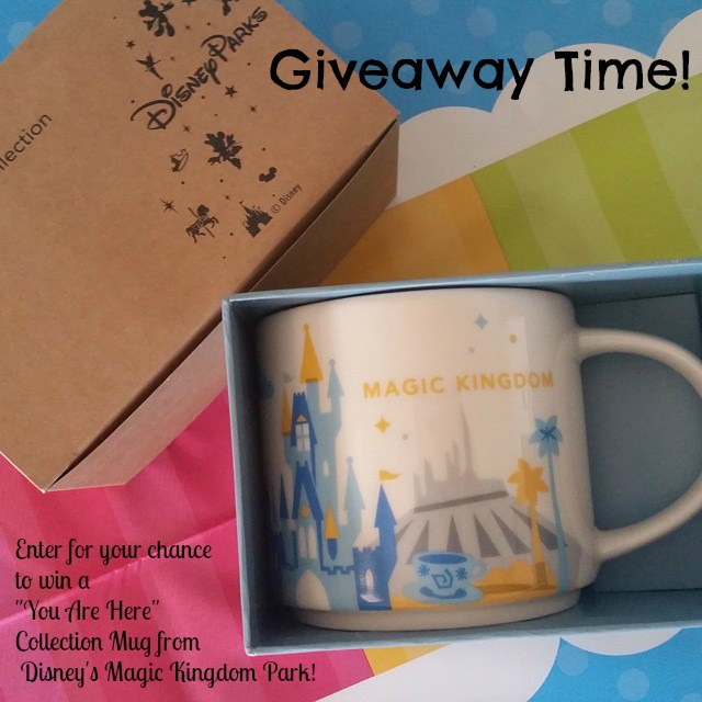 "Walt Disney World  ""YOU ARE HERE"" Collection Mug Giveaway"