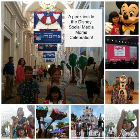 A peek into the Disney Social Media Moms Celebration!