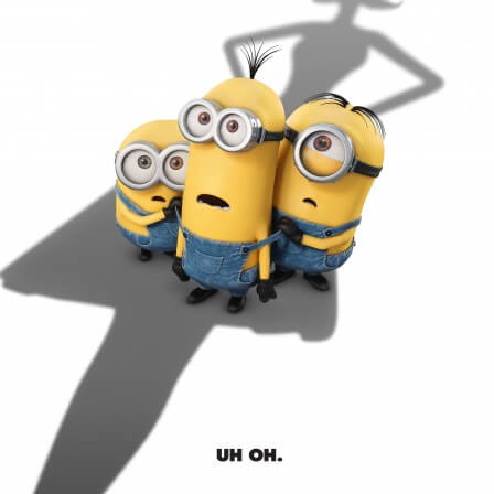Minions opens on July 10th