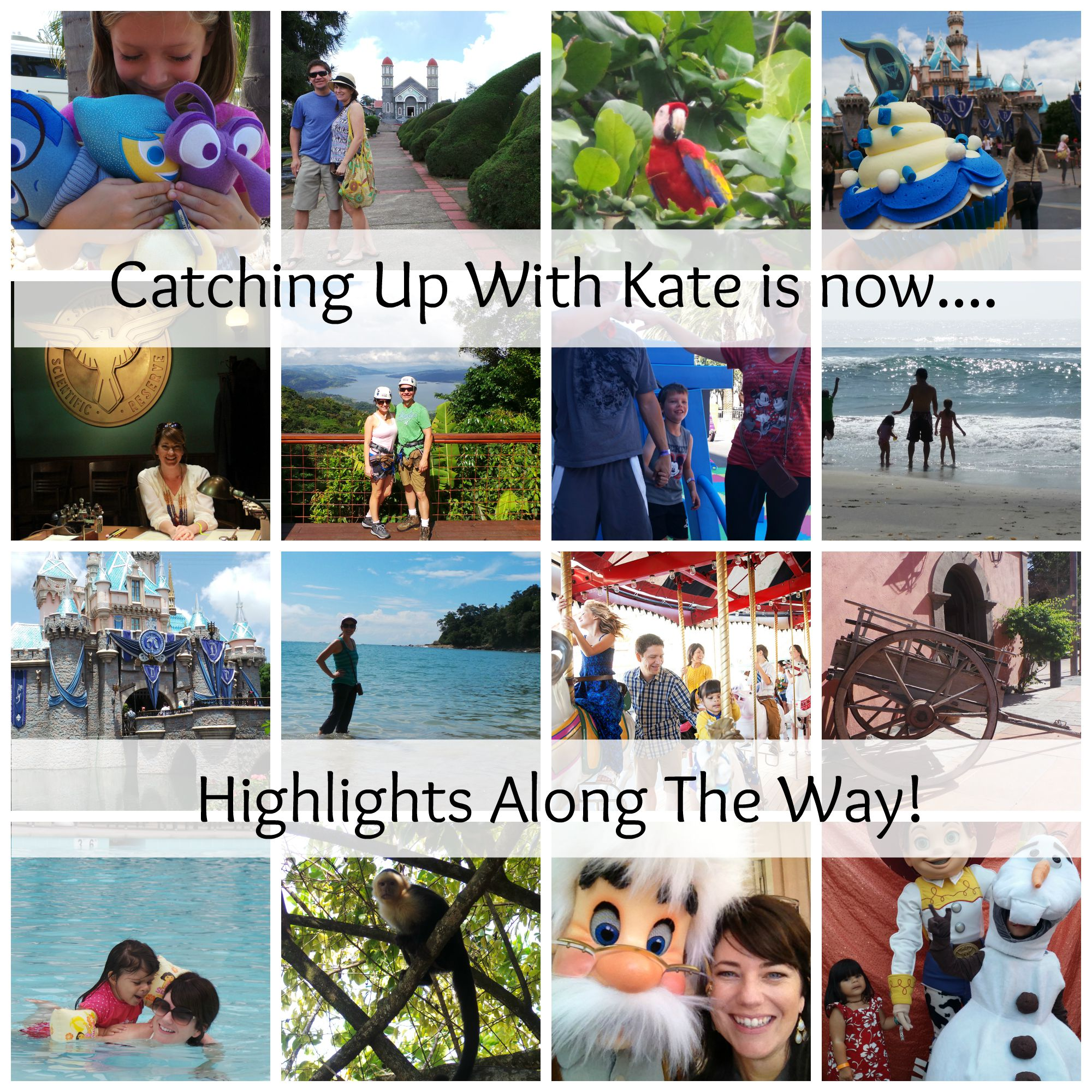 "Catching Up With Kate is now ""Highlights Along the Way""!"
