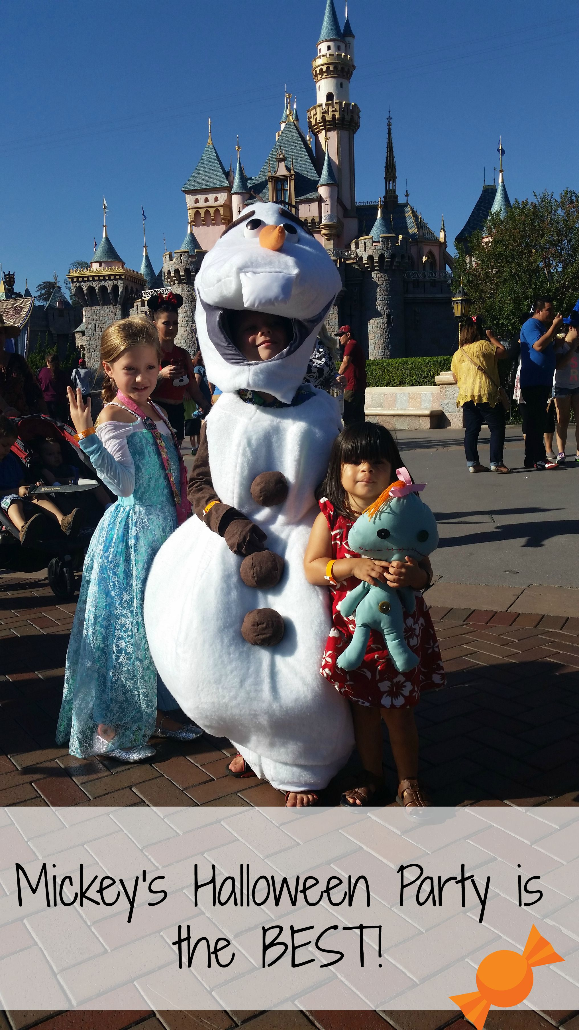 Mickey's Not So Scary Halloween Party is the best!  Just Five of the Many reasons…..