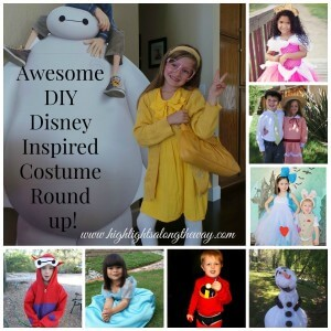 Awesome DIY Disney Inspired Costume Round Up!