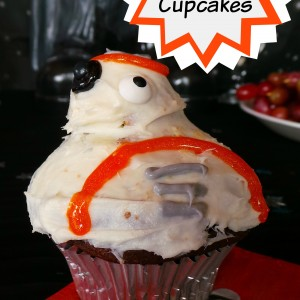 BB8 Cupcakes, Star Wars The Force Awakens