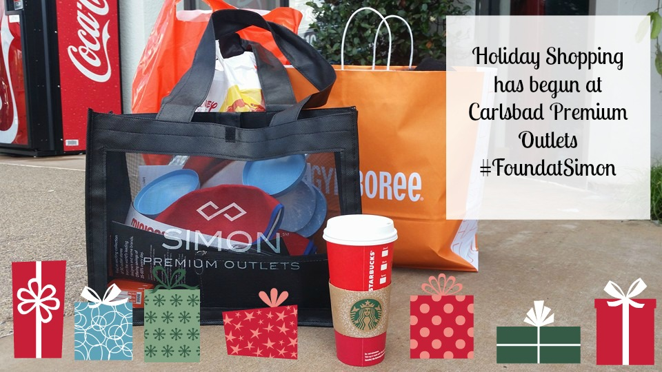 Carlsbad Premium Outlets Holiday Shopping!