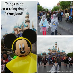 Things to do on a Rainy Day at Disneyland