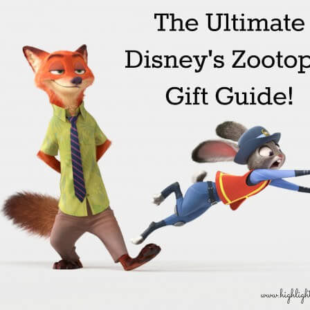 Zootopia Gift Guide!