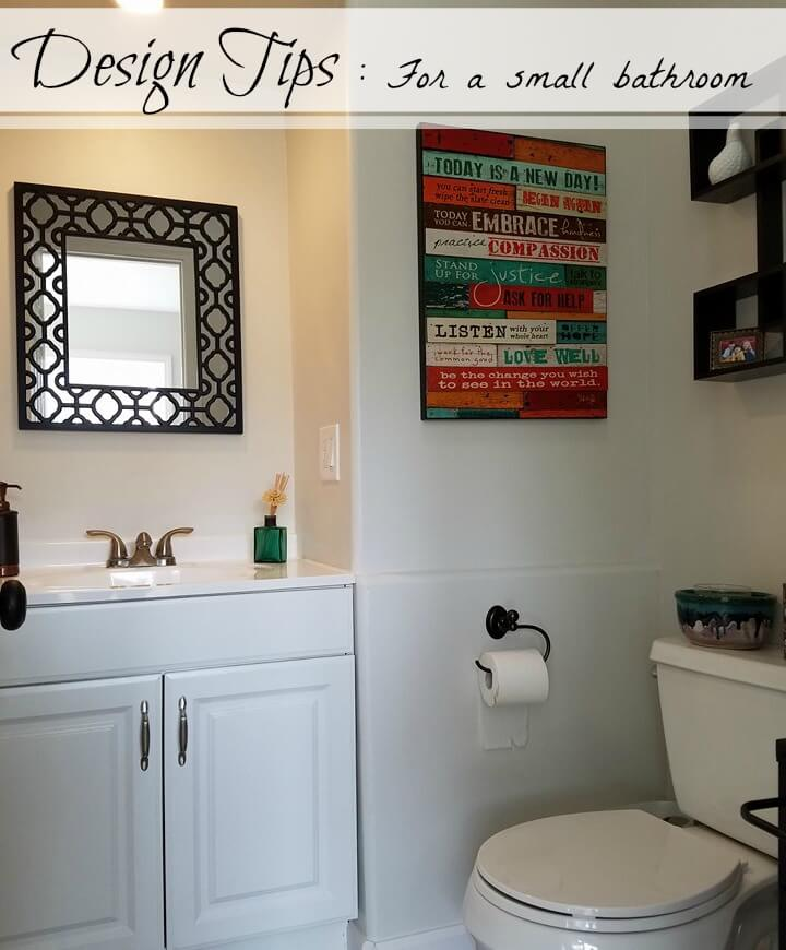 Design Tips For A Small Bathroom