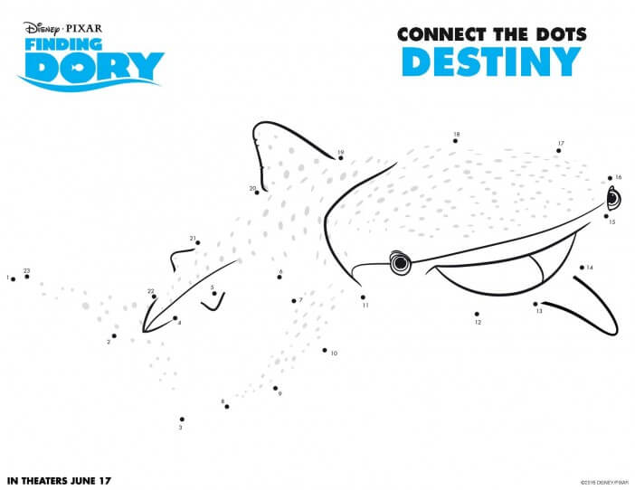 Finding Dory Destiny printable