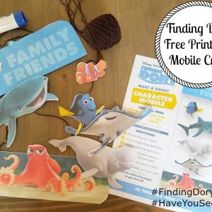 Finding Dory Printable Mobile