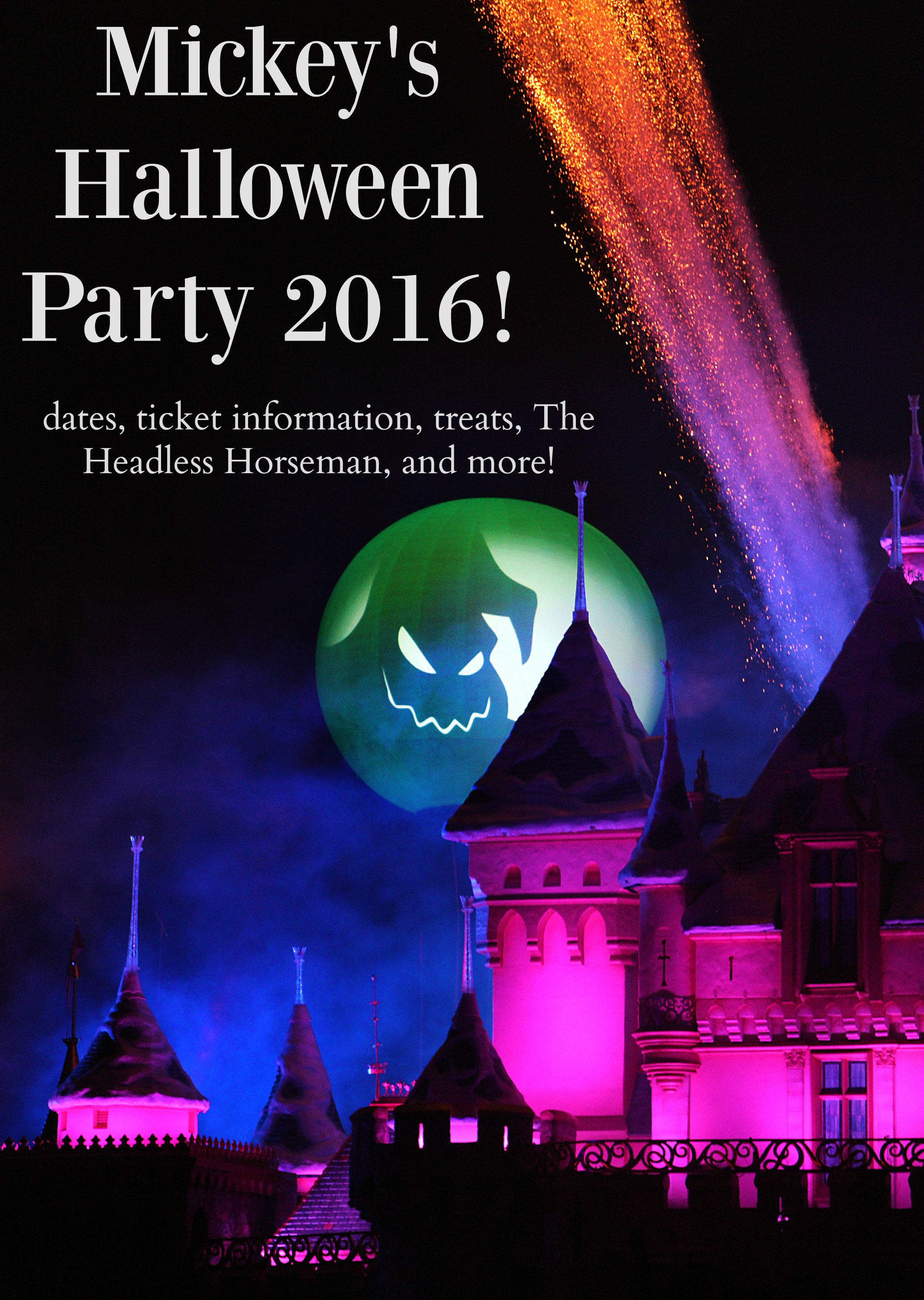 Mickey's Halloween Party dates and ticket information