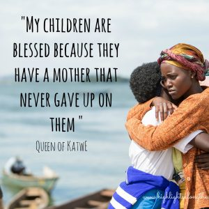 Queen of Katwe will capture your heart and inspire you!