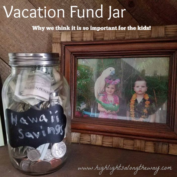 vacation fund jar for kids
