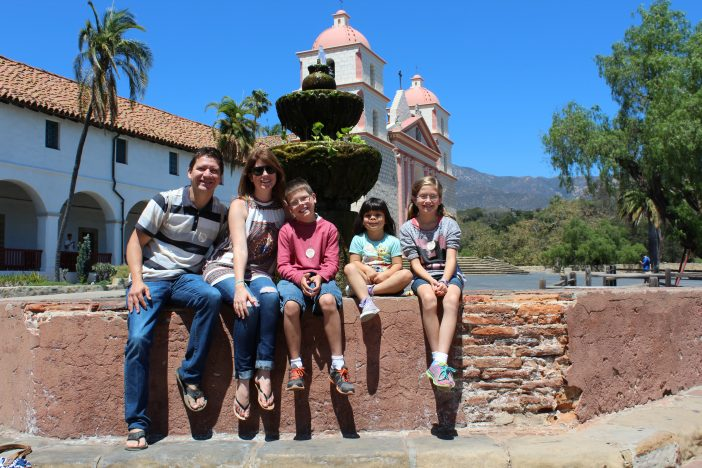 mission Santa Barbara Family