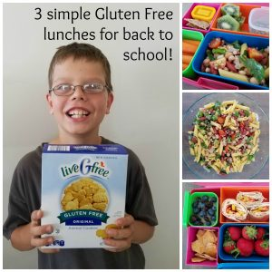 3 Simple Gluten Free Lunch Ideas