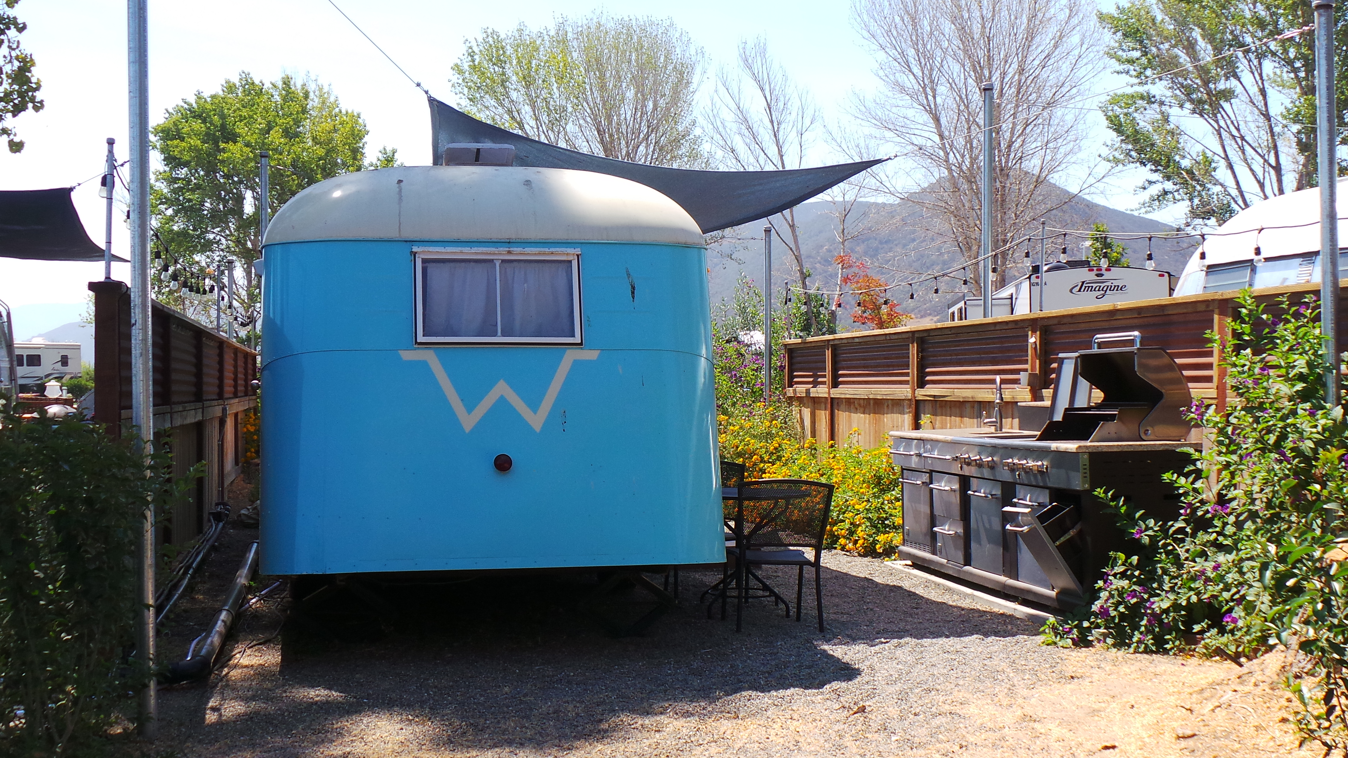 Glamping is better than camping. We Glamped in Buellton and liked it!