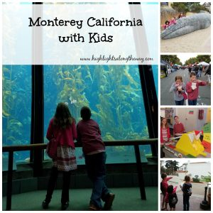Monterey California with kids - FREE Ocean Life Printable