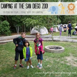 Camping at the San Diego Zoo – Wildlife Sleepovers!
