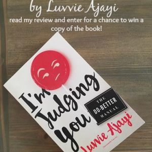 I'm Judging You - book review and a giveaway!