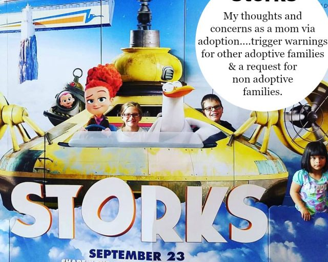 storks movie and adoption triggers