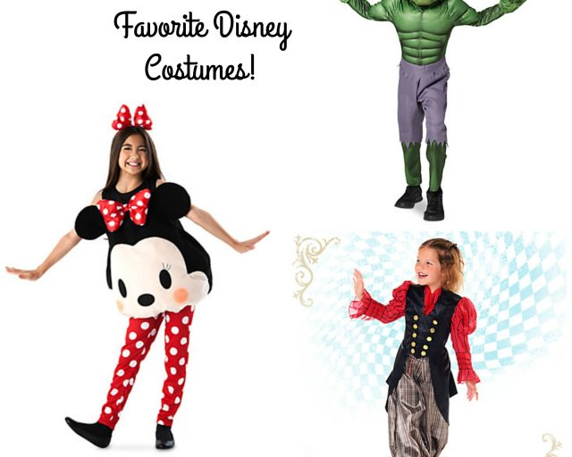 top disney costumes