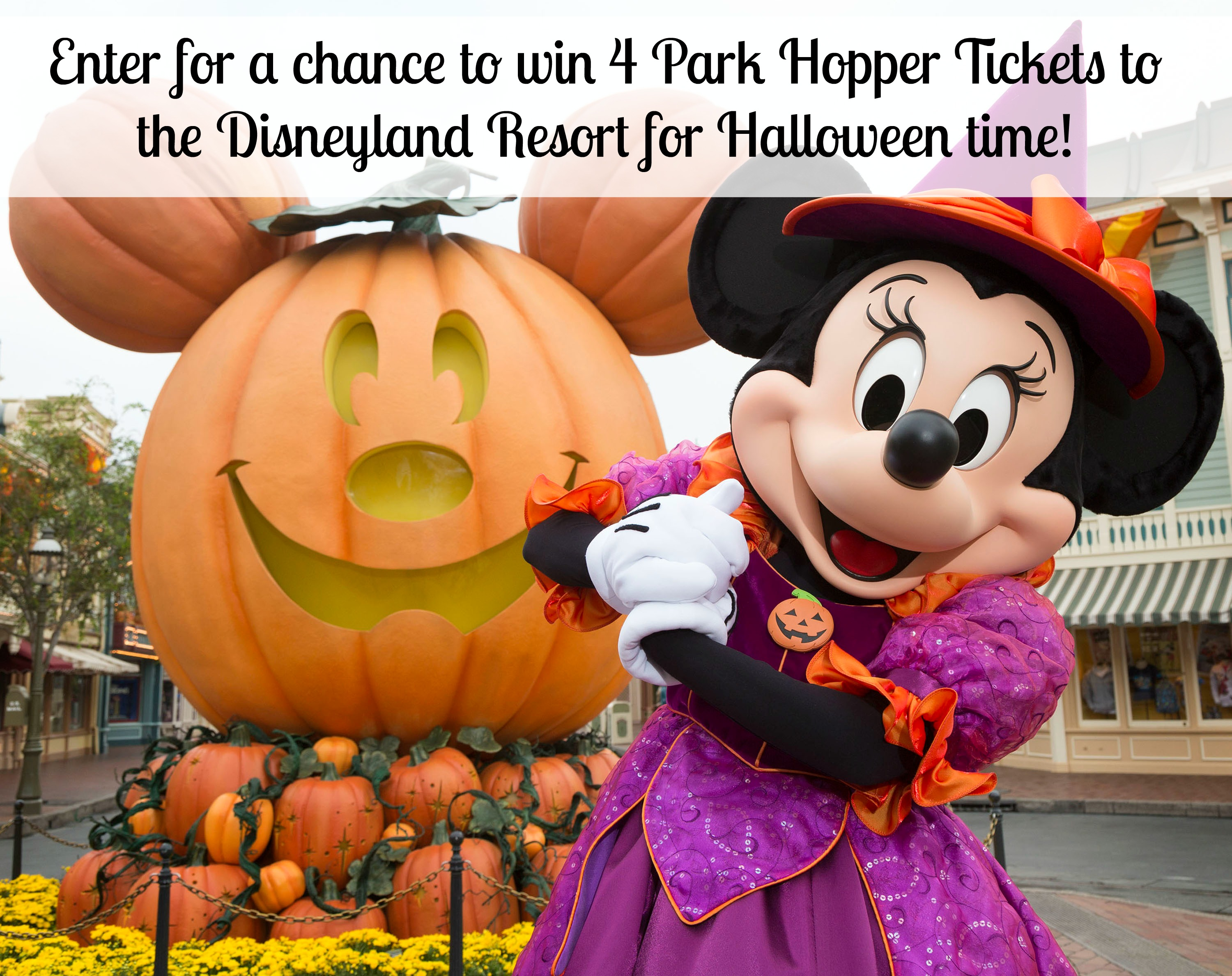 disneyland tickets giveaway for halloween time at disney!