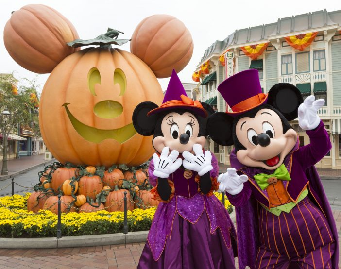 mickey and minnie pumpkin