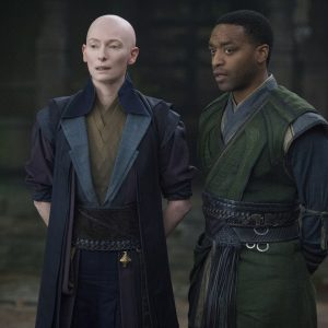 An interview with Tilda Swinton who plays The Ancient One in Doctor Strange.